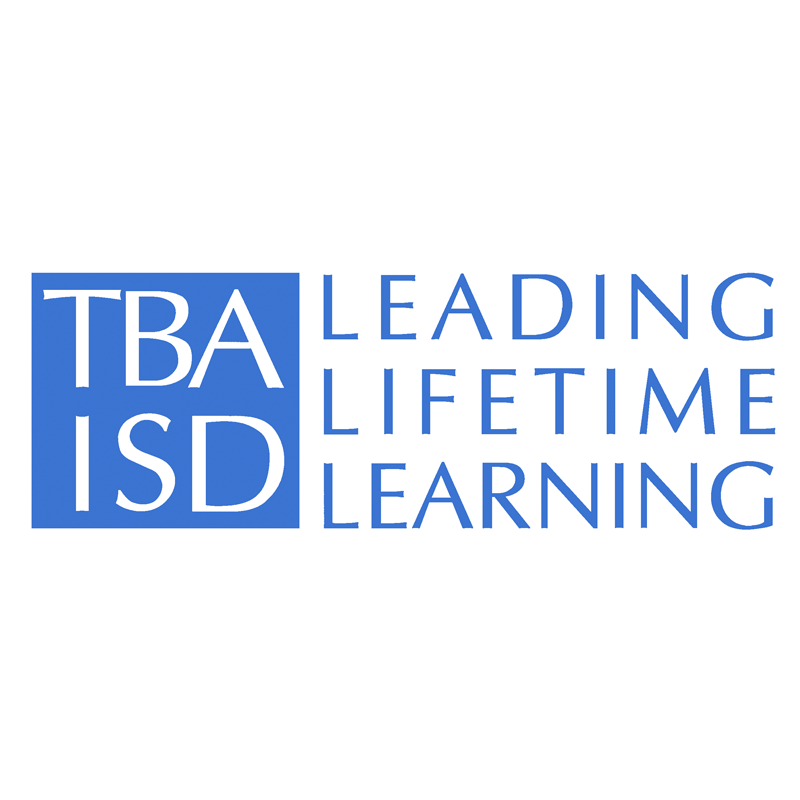 TBA ISD Leading Lifetime Learning Logo